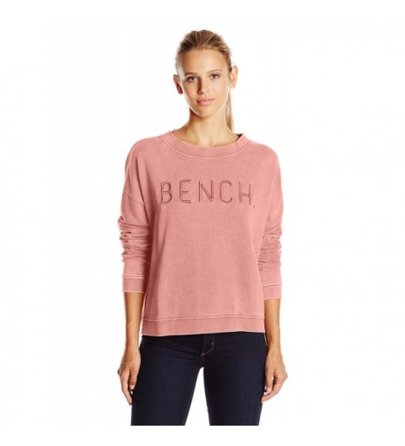 Bench Womens Sweatshirt Brandied Apricot