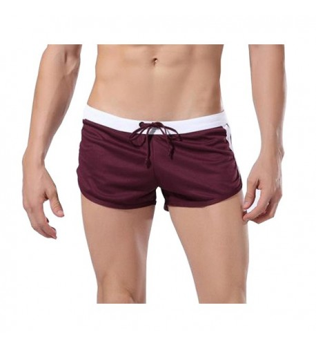 Draw String Shorts Swimming Trunks Swimsuit