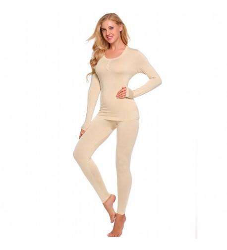 Skylin Thermal Underwear Layering Slimming