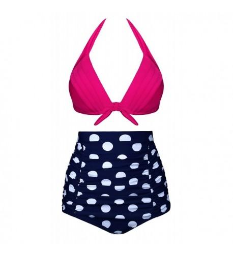 Swiland Womens Vintage Bikini Swimsuits