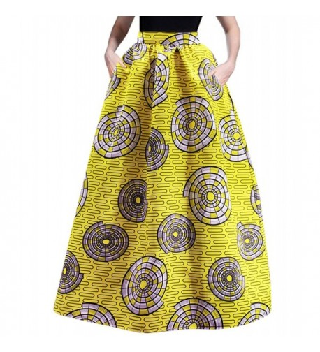 RARITY US Fashion Pockets African Glamorous