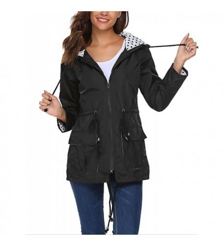 Lightweight Waterproof Outdoor Raincoat Pockets