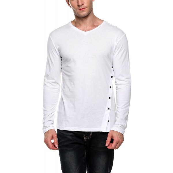COOFANDY Mens Sleeve Cotton Shirts