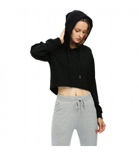ZAN STYLE Womens Sleeves Hoodie Sweatshirt