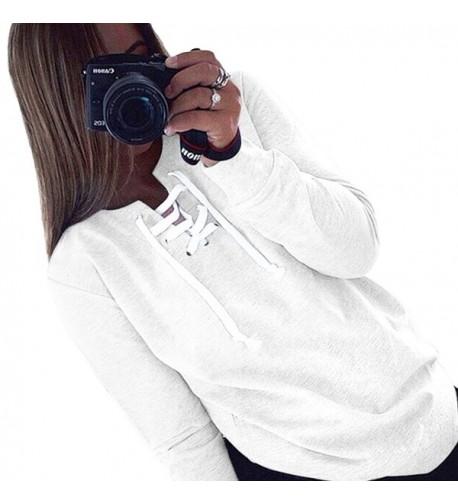 Darceeneth Sleeve Shirts Pullover Sweatshirts