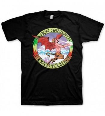Black Sabbath Tour T Shirt Size