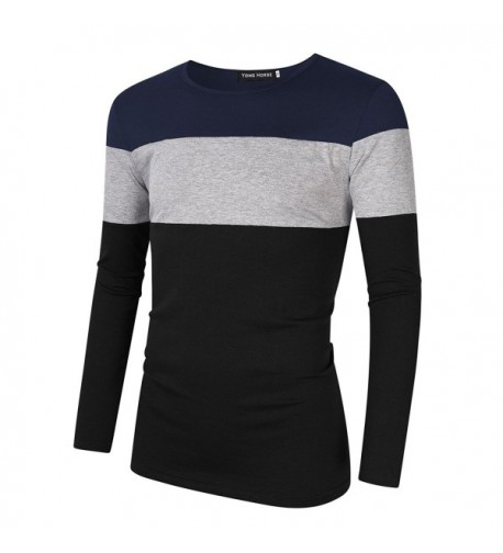 Breathable Cotton Stitch Striped Sleeve