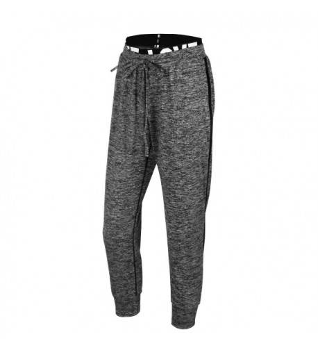 EUFANCE Fitness Drawstring Jogging Sweatpants