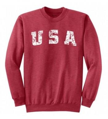 Joes USA Vintage Crewneck Sweatshirt