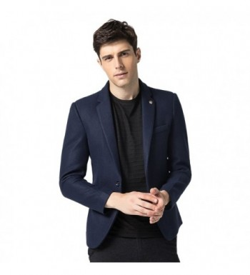Finrosy Blazer Jacket Button Pockets