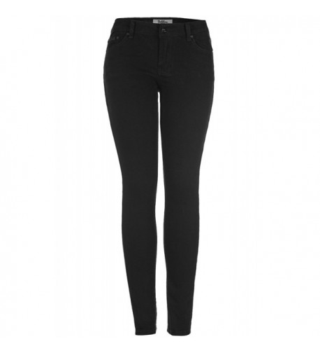 2LUV Womens Stretchy Pocket Skinny