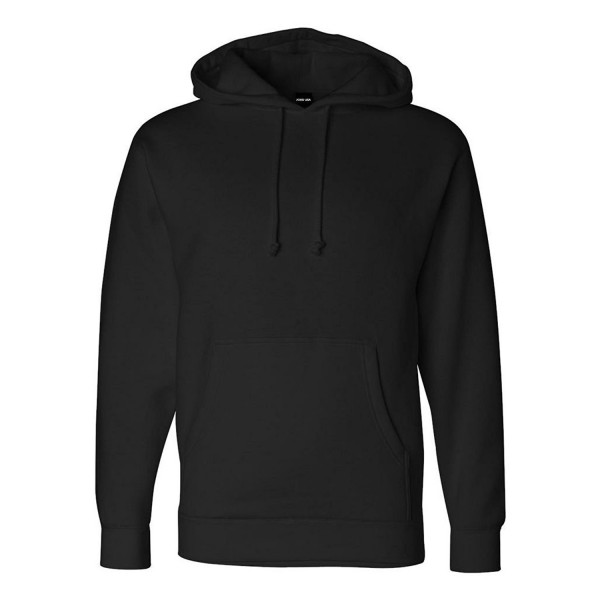 Joes USA 10 Oz Heavyweight Hoodies Black 2XL