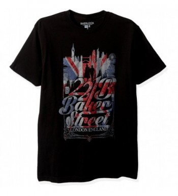 Sherlock Baker Street T Shirt Black