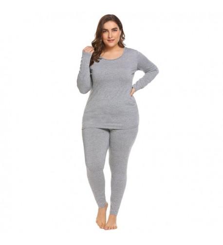 Involand Womens Thermal Fleece Underwear