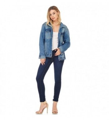 Popular Women's Denim Jackets Outlet