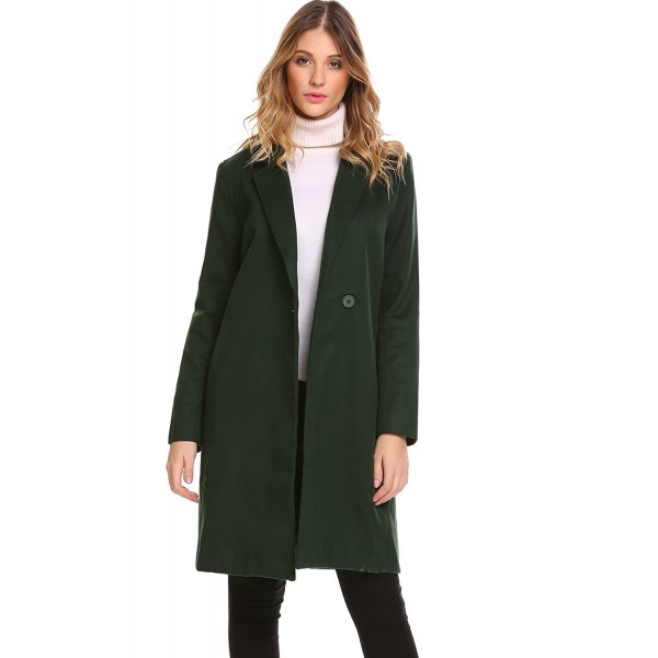 Zeagoo Trench Blended Jacket Cardigan