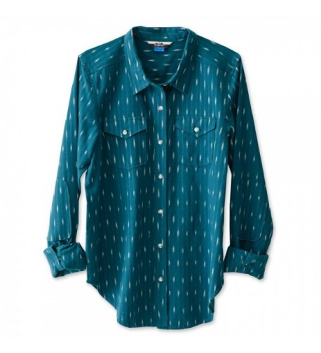 KAVU Womens Hadley Button Shirts