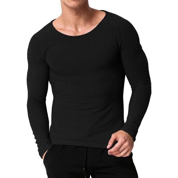 MODCHOK Shirts Crewneck Sweatshirt Lightweight