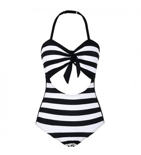 Septangle Swimsuit Backless Monokini 14