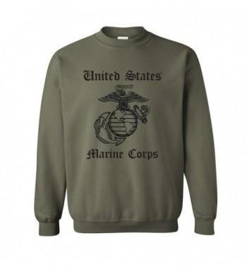 zerogravitee United Crewneck Sweatshirt Military