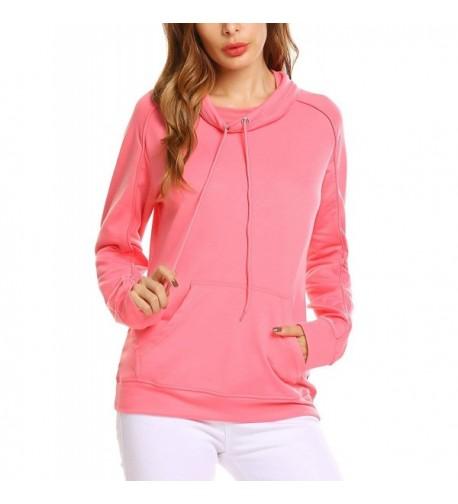 Zeagoo Sleeves Pullover Sweatshirts Kangaroo