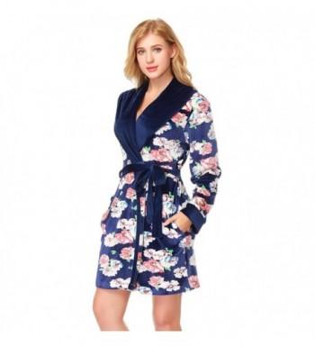 SESY Flannel Comfortable Loungewear Royalblue
