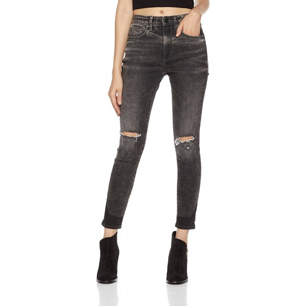 HALE Womens Sculpted Skinny Cropped