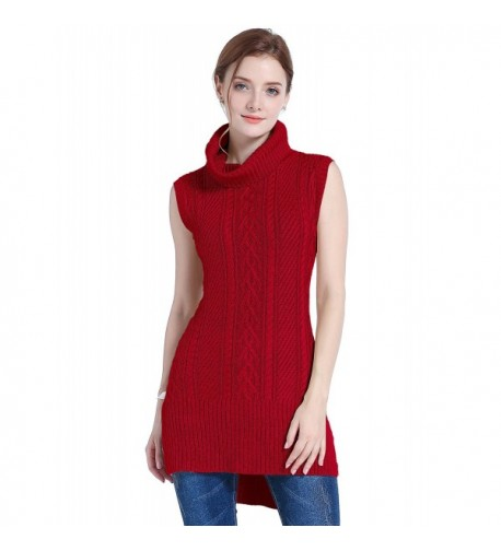 V28 Stretchable Sleeveless Pullover Sweater