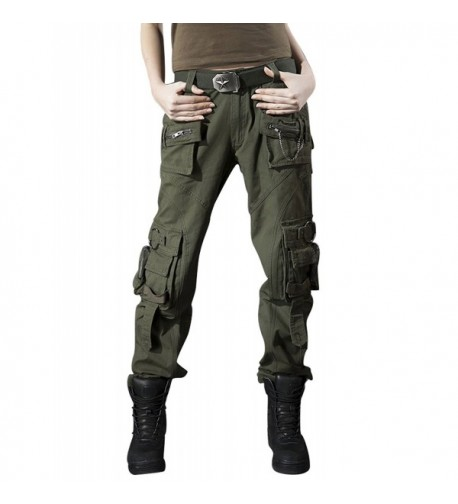 Gihuo Womens Outdoor Military Pockets