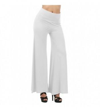 TWINTH Capri Pants Plus WHITE