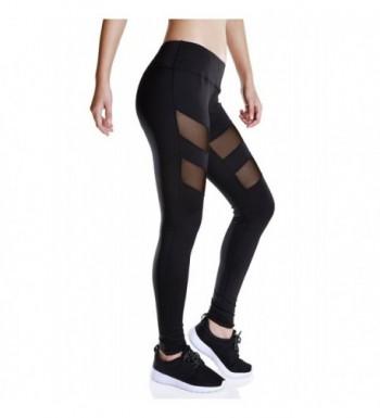 Fengtre Breathable Elastic Workout Leggings