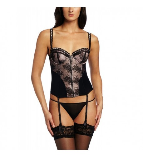Jezebel Womens Bustier Black Medium