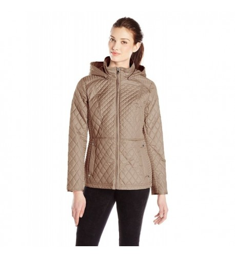 Weathertamer Womens Lightweight Quilted Jacket