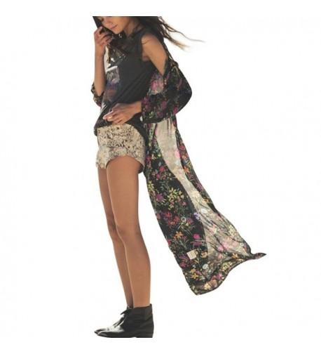 Yonala Fashion Chiffon Cardigan Swimsuit