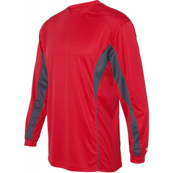Badger Adult Long Sleeve Performance Graphite