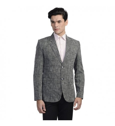 Wintage Linen Button Notch Blazer