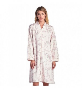 Casual Nights Womens Quilted Robe