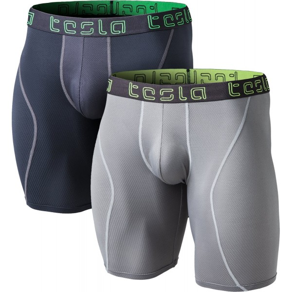 Tesla TM MBU13 GRY_Medium Relaxed Stretch Underwear