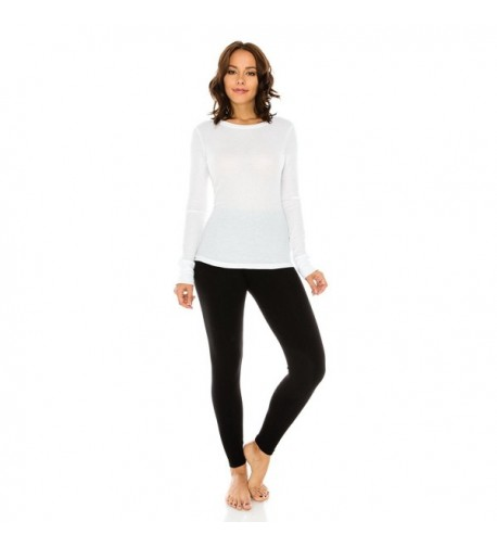 Classic Womans Crewneck Sleeve Thermal