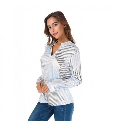 Womens Casual Stripe Collision T Shirt