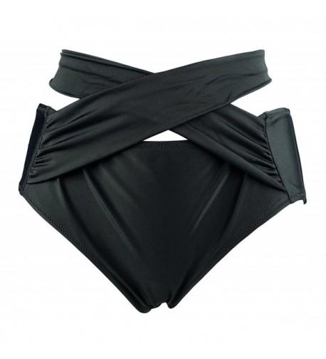 Cocoship Womens Waisted Straps Swimwear