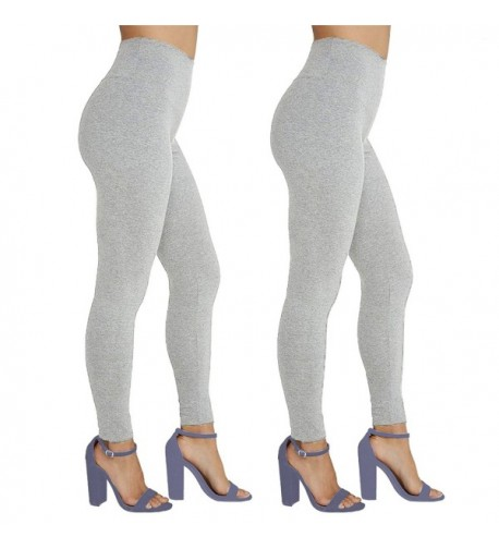 ODIJOO Cotton Leggings Athletic Workout