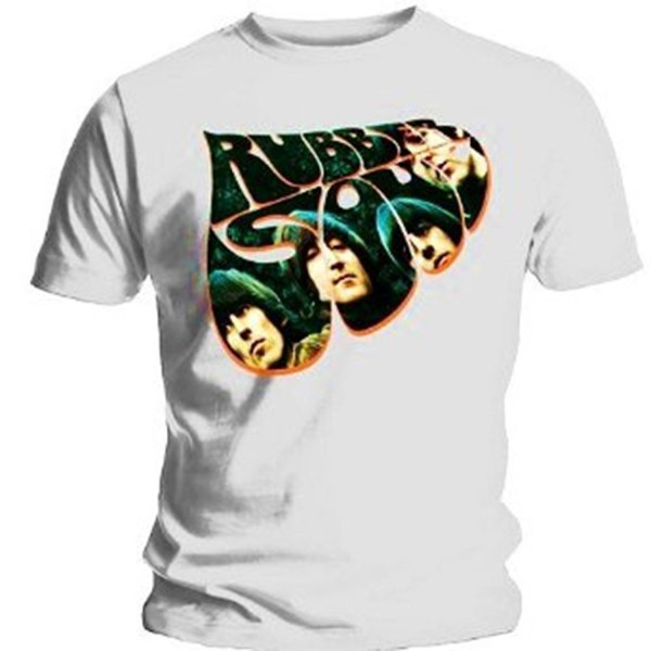 BEATLES Rubber Album Photo T Shirt