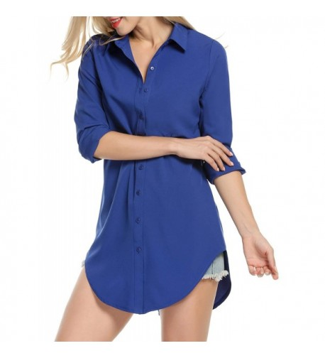Hufcor Women Sleeve Collar Dresses