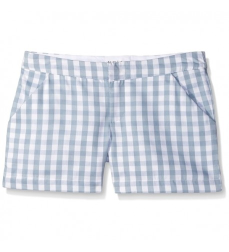 Olive Oak Womens Gingham Short