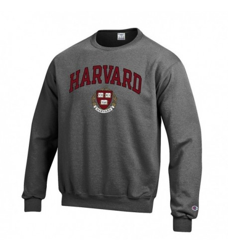 Harvard University Crewneck Sweatshirt Charcoal
