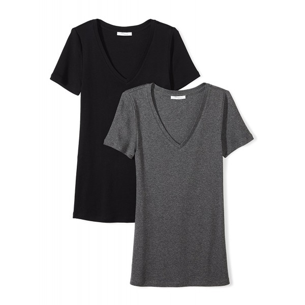 Daily Ritual Midweight Short Sleeve Charcoal
