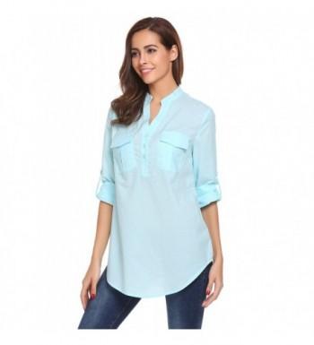 Fashion Women's Henley Shirts Online