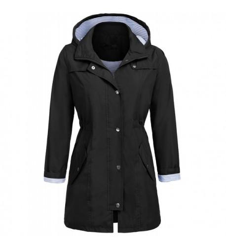 Elover Lightweight Packable Waterproof Raincoat