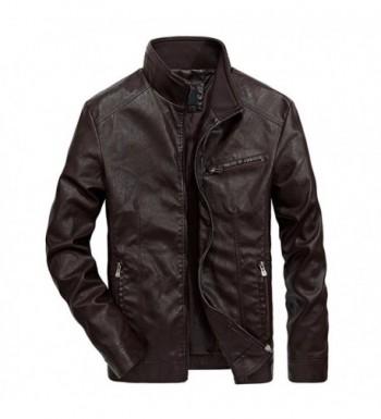 Nantersan Leather Jacket Collar Motorcycle